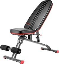 femor Hantelbank, Multifunktion Bank, verstellbare Training Fitness Bank, Profi Sit Up Bank mit 7-Fach/11-Fach verstellbarer Rückenlehne, für Ganzkörperübungen, Heim-Fitnessstudio, bis 120kg/200kg