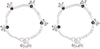 Frolics India Alloy Stud Anklet with Ghungroo for Kids