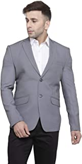 WINTAGE Men's Polyester Cotton Formal and Wedding Blazer Coat Jacket