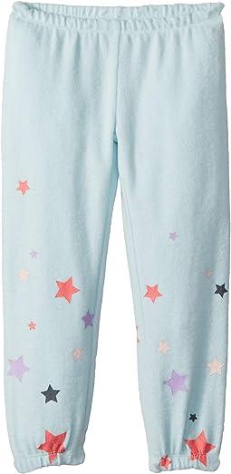 Super Soft Love Knit Cozy Sweatpants w/ Delicate Star Print (Toddler/Little Kids)