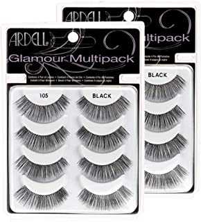 Ardell Multi Pack 105, 4 prs Glamour False Lashes x 2 pack