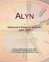 Alyn: Webster's Timeline History, 1659 - 2007