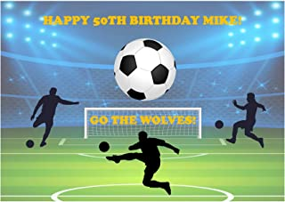 Baking Bling Wolverhampton Wanderers Football Fan A4 Personalised Name Age Birthday Easy Peel PRE-Cut Edible Icing Cake Topper