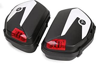 New Hard Saddlebags for Can-am Spyder ROADSTER RS ST Honda Street With Mounting Brackets
