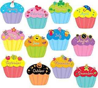 Creative Teaching Press Cupcakes 6-Inch Designer Cut-Outs (1795)