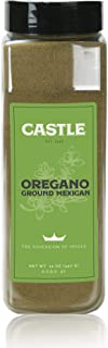 Castle Foods | OREGANO GROUND MEXICAN Container, 12 oz Premium Restaurant Quality