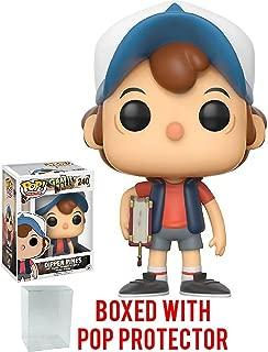 Funko Pop! Animation: Gravity Falls - Dipper Pines Vinyl Figure (Bundled with Pop BOX PROTECTOR CASE)