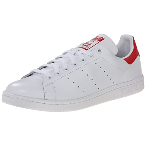 uk availability c1be7 8e69f adidas Men s Originals Stan Smith Sneaker, White White Collegiate Red, ...