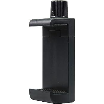 SIOTI 電話三脚アダプタマウント 電話クリップ スマートフォンクランプ 三脚に使用 すべてのスマートフォン用 (単ネジ穴)