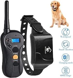 Petame Dog Training Collar, Dog Training Collar with Remote, 3 Training Modes, Shock, Vibration, Tone, Ipx7 Waterproof, Up to 1000Ft Remote Range, Training Collaraining for Small, Medium, Large Dogs