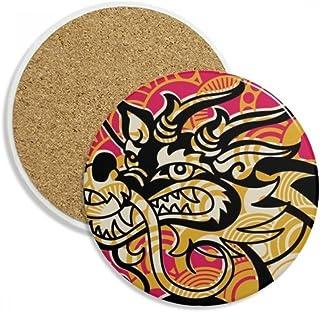 Barnwell Pierre /à aiguiser en ardoise naturelle Motif dragons 20,3 x 5,1 x 1,27 cm