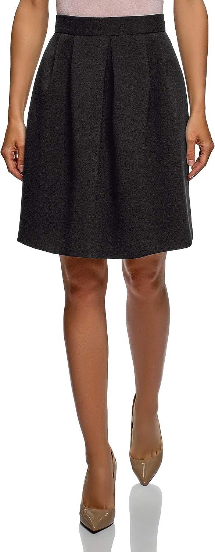 oodji Ultra Women's A-Line Zipper Skirt