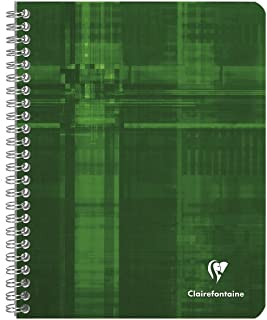 Clairefontaine Wire Book 6.5X8.25 Rule/Margin (colors may vary)