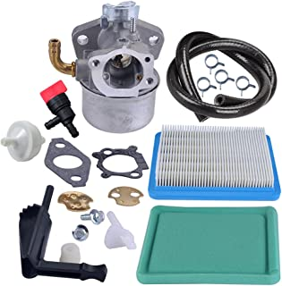 Panari Carburetor Carb + Air Filter Fuel Line Filter for Briggs and Stratton 798653 697354 790290 791077 698860 Lawn Mower Parts
