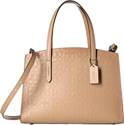 Signature Leather Charlie Carryall