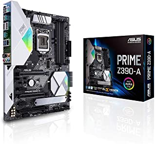 ASUS Prime Z390-A Motherboard LGA1151 (Intel 8th and 9th Gen) ATX DDR4 DP HDMI M.2 USB 3.1 Gen2 Gigabit LAN Prime Z390-A