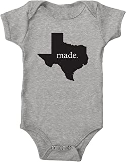 Infant Texas Made 100% Cotton One-Piece Bodysuit