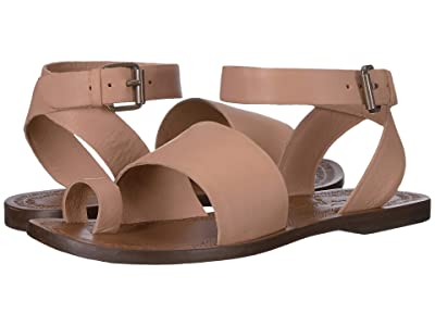 Free People Torrence Flat Sandal (Rose) Women