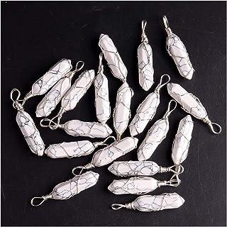 CQHUI Bulk Factory Outlet Jewelry Pendants Gem Gem Natural Gem Wire Boying Branches for la creazione di Collana Pendolo Es...