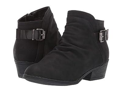 Blowfish Kids Seastie-K (Little Kid/Big Kid) (Black Utah PU/Meteorite Metallic) Girls Shoes