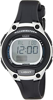 Relógio Feminino Casio Digital LW2031AVDF - Preto/Prata