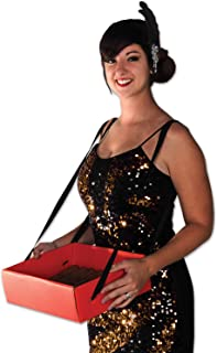 Beistle 59891 Cigarette Girl Party Tray, 4