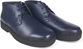 CITI British Style - Chukka High Top Mens Leather Shoes (Playboy Style # 5612)