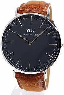 ダニエルウェリントン 腕時計 40MM 00100132DW Classic Black DURHAM SILVER [並行輸入品]