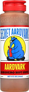Secret Aardvark Habanero Hot Sauce | Made with Habanero Peppers & Roasted Tomatoes | Non-GMO, Low Sugar, Low Carb | Awesom...