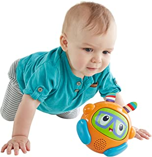 Fisher-Price Bright Spin & Crawl Tumble Franky Beats Ball