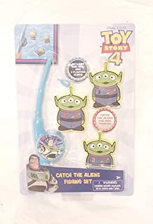 Fishing Set Catch The Floating Aliens with Magnetic Fishing Rod and Reel