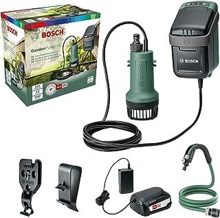 Bosch vattenpump trädgårdspump med batteri Grön