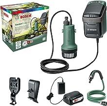 Bosch Accu Dompelpomp GardenPump 18 (1x accu, 18V-systeem, max. lengte tuinslang: 25 m, in doos)