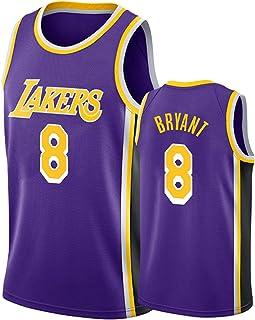Hanhua Men's Women Jerseys - Basketball T-Shirts Vests 8# Kobe Sweatshirts Breathable Embroidery