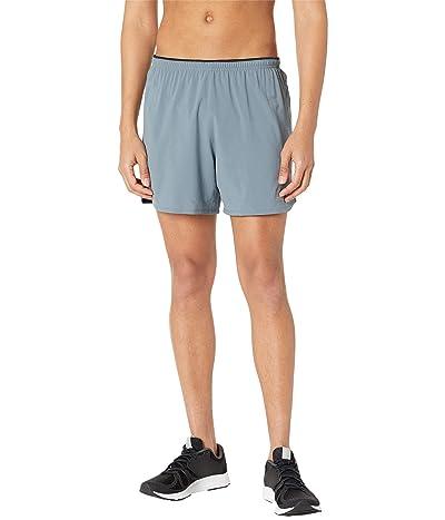 New Balance Impact Run 5-Inch Shorts (Ocean Grey) Men