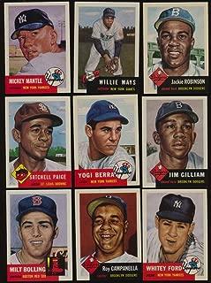 1991 Topps 1953 Archives Baseball NMMT complete 337 card set 42448