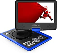 "COOAU Portable DVD Player 11.5"" with Game Joystick, Swivel HD Screen, Support.."