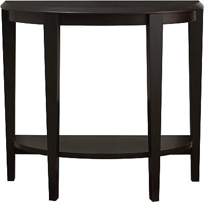 Monarch Specialties Console Table Narrow Entry Table 36 L Cappuccino Furniture Decor