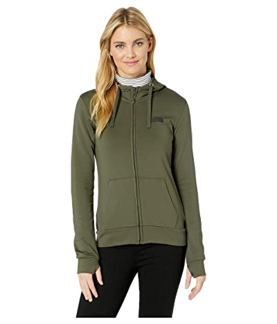 The North Face Fave Lite LFC Full Zip (New Taupe Green/TNF Black) Women