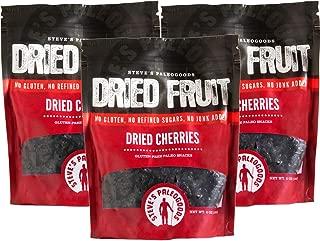 Steve's PaleoGoods, Dried Fruit Cherries, 6 oz (Pack of 3)