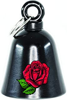 Kustom Cycle Parts Black Rose Motorcycle 'Evil Spirits' Biker Guard Bell. Our Custom Bells fit universally. Works on Any Make/Model Motorcycle. USA Designed w/Lead Free Pewter.