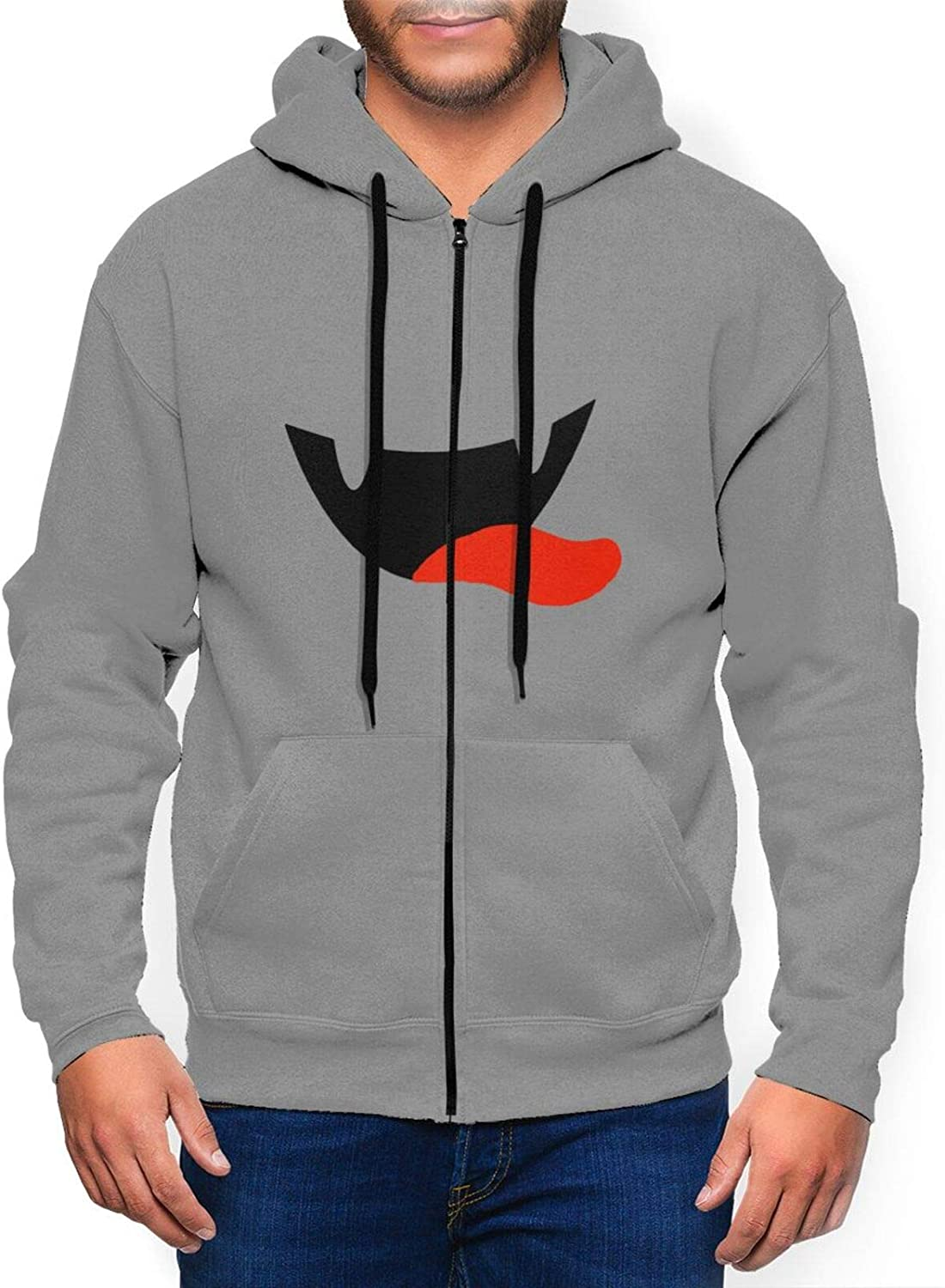 Mouth wholesale Series Man's Zip Hooded Special price for a limited time Sweater Sweatshirt