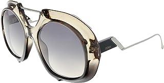 نظارة شمسية اف بي اس دبليو بي بانتو من فيندي للنساء - عدسات ارجواني