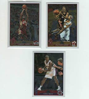 2003-04 Topps Chrome Basketball Complete Set 164 Cards Lebron James Rookie