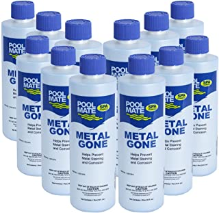 Pool Mate 1-2501SPA-12 Spa Mineral Remover, 12-Pack
