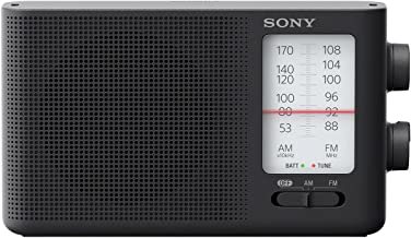 Sony Dual Band FM/AM Analog Portable Battery Radio Home...
