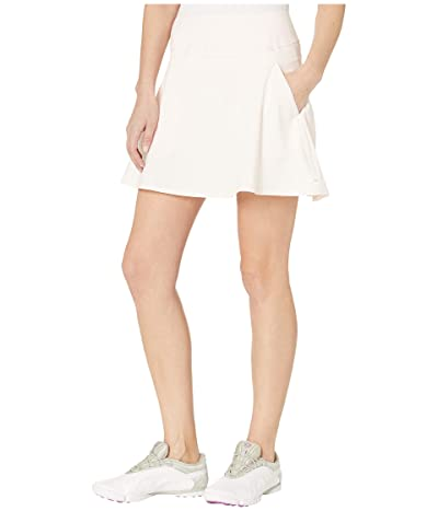 PUMA Golf PWRSHAPE Solid Woven Skirt (Rosewater) Women