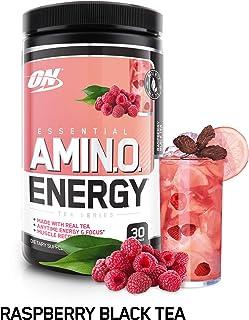 OPTIMUM 欧普特蒙氨基酸能量与绿茶和咖啡色精华 preworkout 和 Essential AMINO acids 30份 270