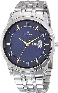 Titan Karishma Blue Dial Analog Watch for Men