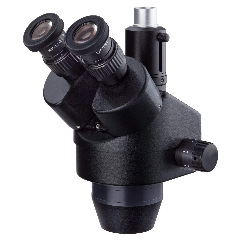 AmScope 7X-45X Black List price Trinocular Stereo Microscope Zoom Rapid rise Simul-Foc